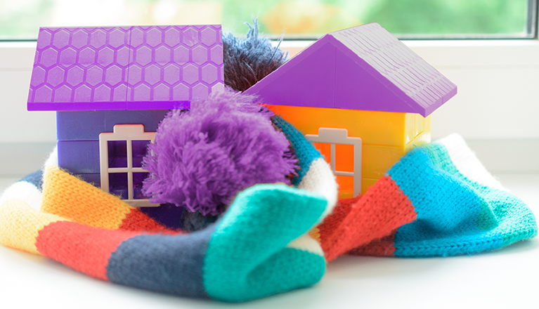 Cosy toy home