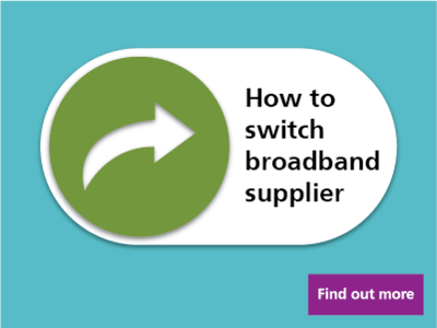Switching broadband is easy