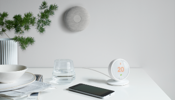 Nest Thermostat E design